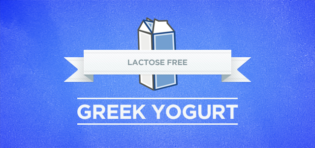 Lactose free greek yogurt